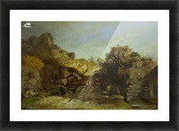 Walachische Landscape Picture Frame print