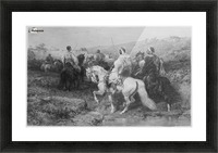 Arabs on the March Picture Frame print