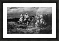 Arab riders Picture Frame print