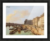 The Pont des Arts, Paris Picture Frame print