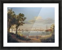 Vue de Venise depuis les Giardini Picture Frame print