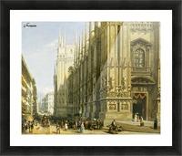 Il Duomo di Milano Picture Frame print