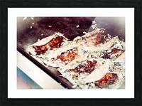 Street Okonomiyaki Picture Frame print