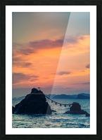 Meotoiwa Picture Frame print