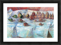 Winter Sickle Pears  by Hassam Picture Frame print