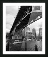 Bridge Picture Frame print