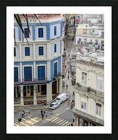 Old Havana Picture Frame print