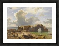 Marina Piccola Bay, Capri Picture Frame print