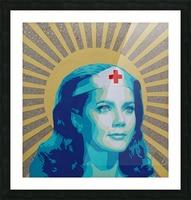 Wonder Women Picture Frame print