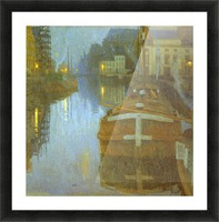 Ghent by Baertsoen Picture Frame print