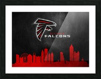 Atlanta Falcons Picture Frame print