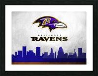 Baltimore Ravens Picture Frame print