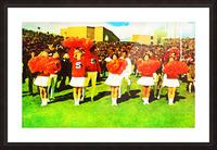 vintage syracuse gameday Picture Frame print