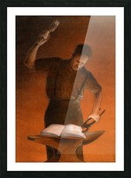 blacksmith Picture Frame print