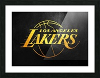 Lakers 2 Picture Frame print