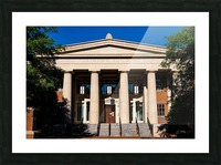 The News Building   Athens GA 07343 Picture Frame print
