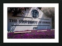 University of Georgia   Athens GA 07037 Picture Frame print