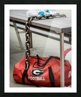 University of Georgia Football   Athens GA 3674 Picture Frame print