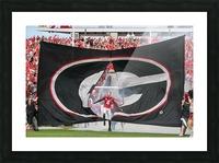 University of Georgia Football   Athens GA 2838 Picture Frame print
