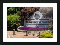 University of Georgia   Athens GA 07074 Picture Frame print