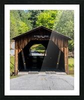 Watson Mill Bridge State Park   Comer GA 06571 Picture Frame print