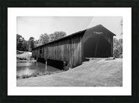 Watson Mill Bridge State Park   Comer GA 06587 Picture Frame print