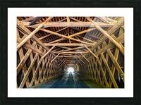 Watson Mill Bridge State Park   Comer GA 06956 Picture Frame print