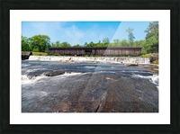 Watson Mill Bridge State Park   Comer GA 06860 Picture Frame print