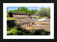 Watson Mill Bridge State Park   Comer GA 06576 Picture Frame print