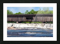 Watson Mill Bridge State Park   Comer GA 06715 Picture Frame print