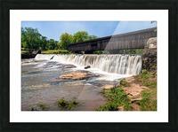 Watson Mill Bridge State Park   Comer GA 06914 Picture Frame print