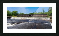 Watson Mill Bridge State Park   Comer GA 06668 Picture Frame print