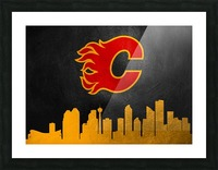 Calgary Flames Picture Frame print