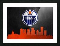 Edmonton Oilers Picture Frame print