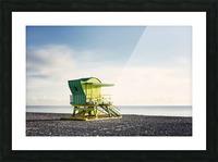 Miami Beach 048 Picture Frame print