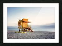 Miami Beach 0280 Picture Frame print