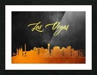 Las Vegas Nevada Skyline Wall Art Picture Frame print