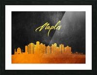 Naples Florida Skyline Wall Art Picture Frame print
