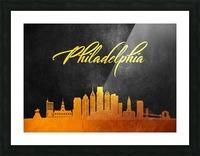 Philadelphia Pennsylvania Skyline Wall Art Picture Frame print