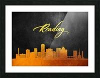 Reading Pennsylvania Skyline Wall Art Picture Frame print