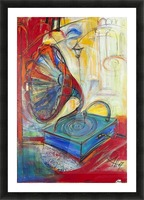 From the series of: Music Picture Frame print