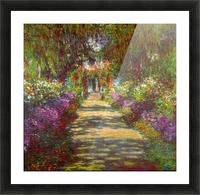 Giverny by Monet Picture Frame print