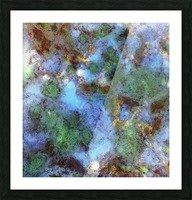 Audible water Picture Frame print