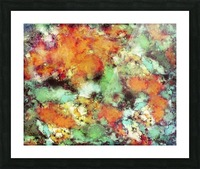 Big cloud collider Picture Frame print