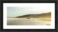 Shore Picture Frame print