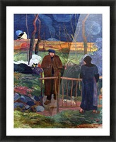 Good Day Mr. gauguin by Gauguin Picture Frame print
