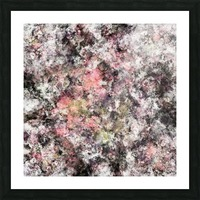 Coral Picture Frame print