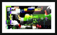 URBAN DENVER 2011 Picture Frame print