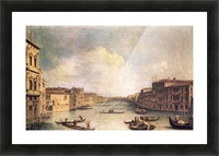 Grand Canal -1- by Canaletto Picture Frame print