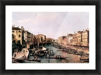 Grand Canal -2- by Canaletto Picture Frame print